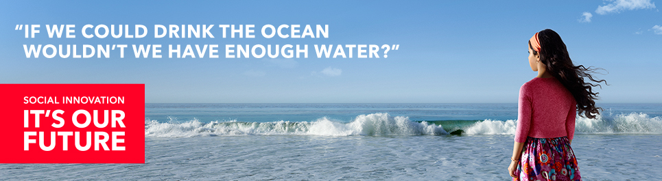 If we could drink the ocean wouldn't we have enough water?