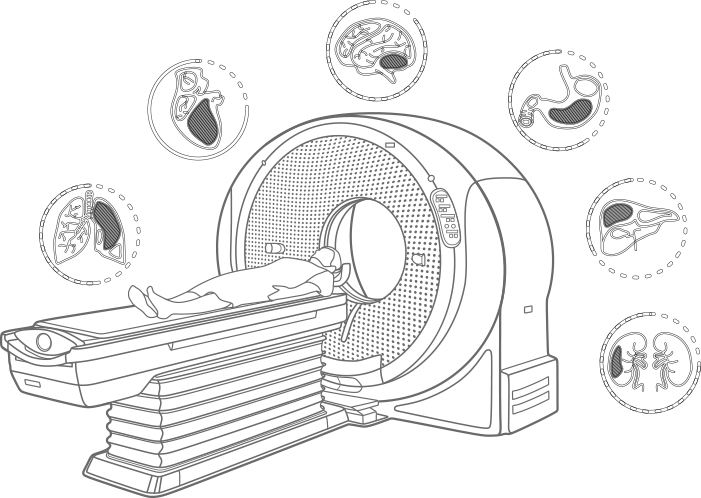 Hitachi Computed Tomography System